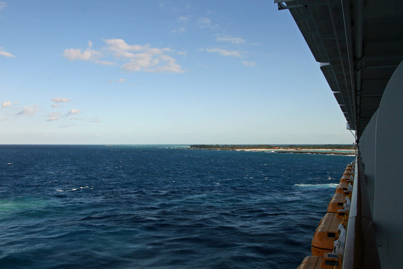 Tip of Castaway Cay