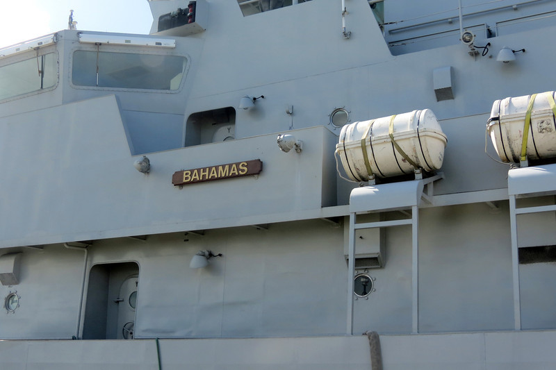 HMBS (Her Majesty's Bahamian Ship) Bahamas P-60