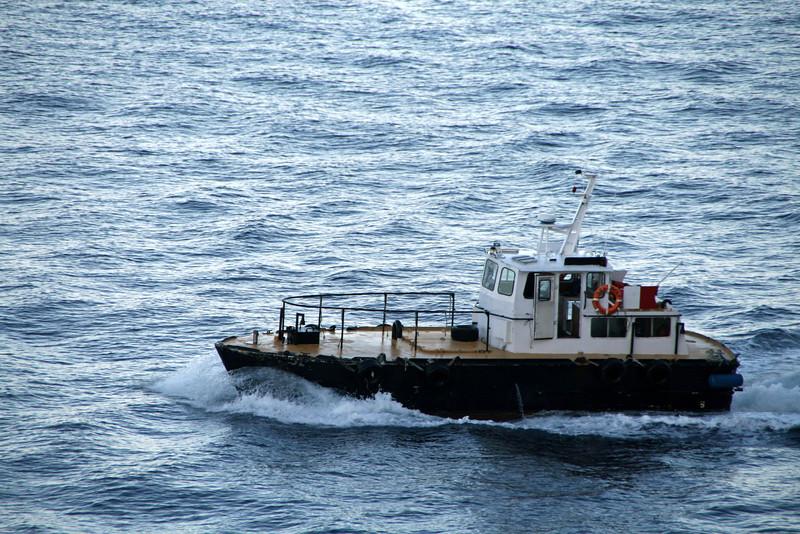 <b>Sea Wolf Tugboat - Nassau, Bahamas</b> - This photo was taken from our verandah.