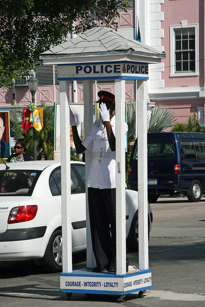 Police on Bay Street