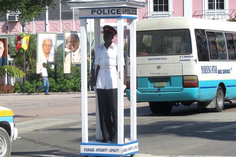 Police on Bay Street