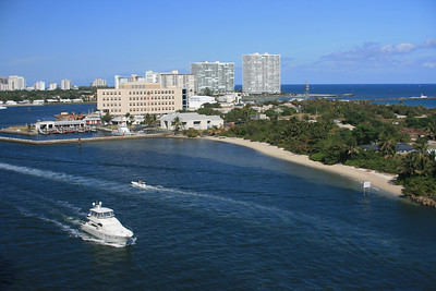 Intracoastal waterway at Ft. Lauderdale