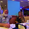 Photo of my sister and her hubby. They joined us on our vacation. Or rather we joined them on their vacation.