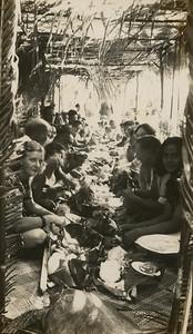Lifuka, Tonga, a feast.