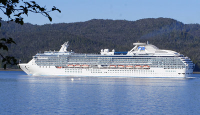 "The Cruise boat ""the Island Princess""."