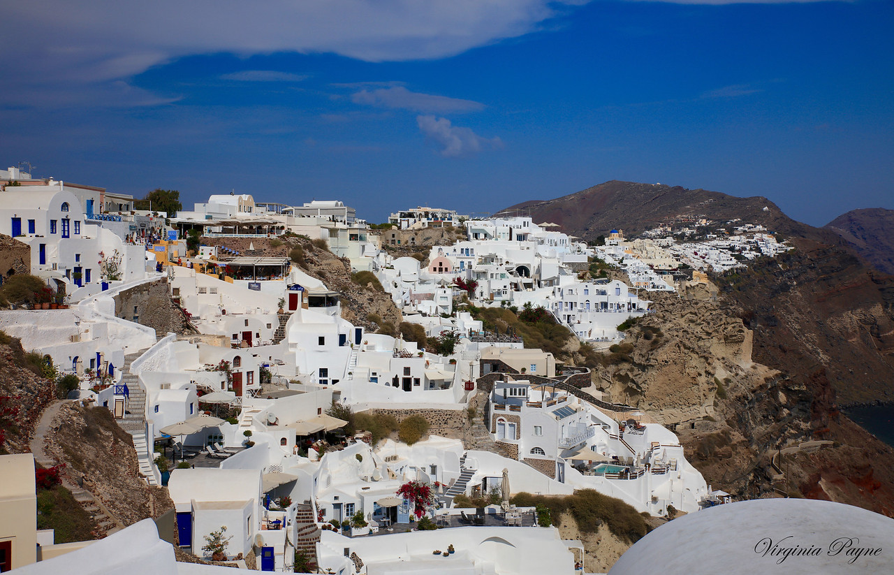 The town of Oia is considered the oldest settlement on the island.