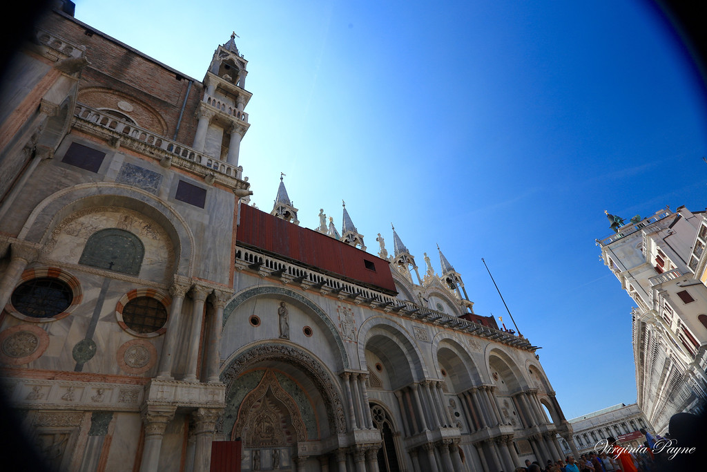 St. Mark's Basilica in St. Mark's Square.