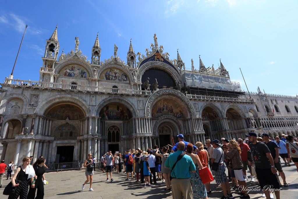 St. Mark's Basilica - always a huge line to get in...
