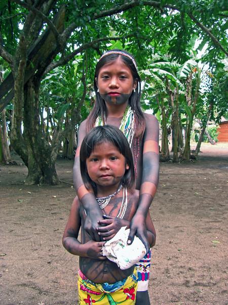 Embera girls