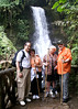 Mal, Judy, Cindy, Robert at La Paz Waterfall in Costa Rica
