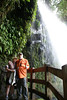 Cindy and Robert at La Paz Waterfall in Costa Rica