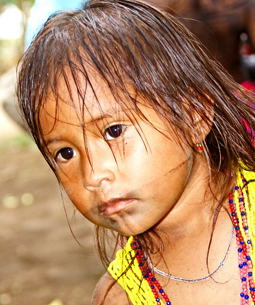 Another Embera girl
