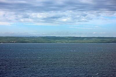 Sailing into Falmouth