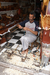 Marrakesh, Morocco.  I'd give you a buck to sniff this guys feet.