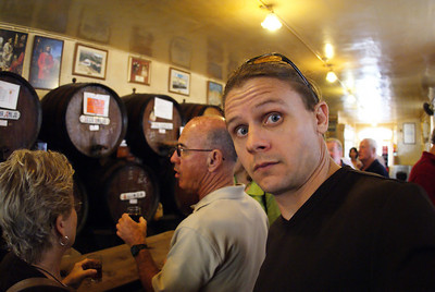 Malaga, Spain.  Sherry bar.