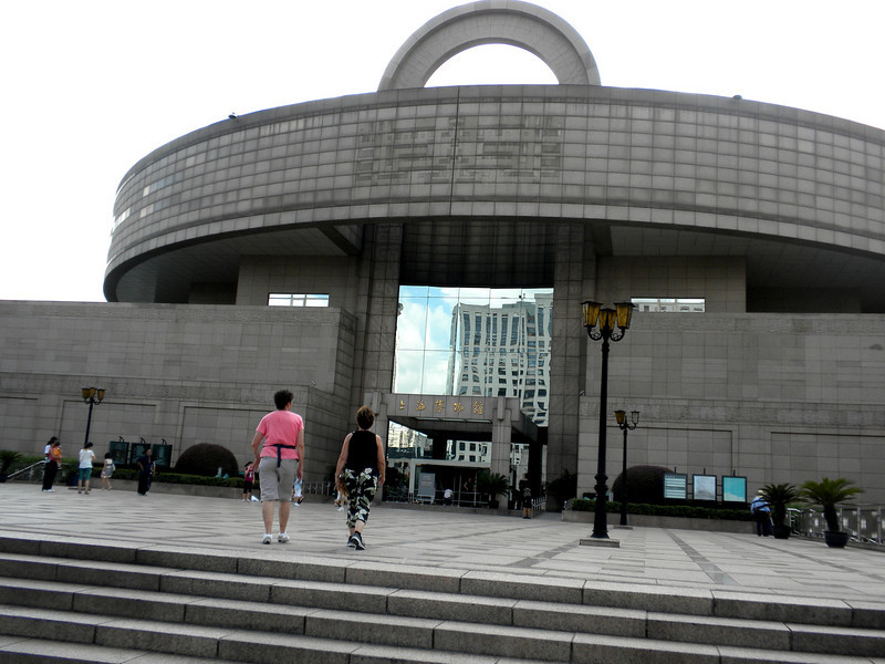 Shanghai, China - Shanghai Museum, featuring mostly artifacts of China over its thousands of years of history