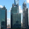 Shanghai, China - Really, these building are in Pudong, across the Wampo River from our ship.