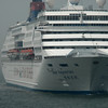Hong Kong, China - a ship of Star Cruises of Hong Kong
