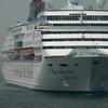 Hong Kong, China - a ship of Star Cruises of Hong Kong