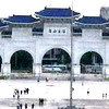 Taipei, Taiwan - The main gate of the Chiang Kai-Sek Memorial.
