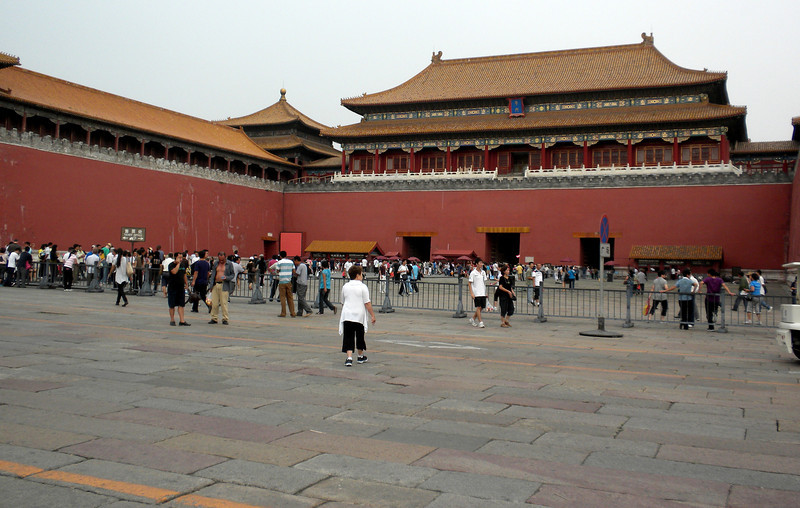 Beijing, China - entrance to the Forbidden City