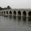 Beijing, China - Seventeen-Arch Bridge inside Summer Palace