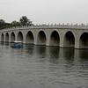 Beijing, China - Seventeen-Arch Bridge inside Summer Palace
