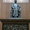 Taipei, Taiwan - statue of Chiang Kai-Sek inside the National Palace Museum
