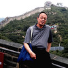Beijing, China - Peter on the Great Wall