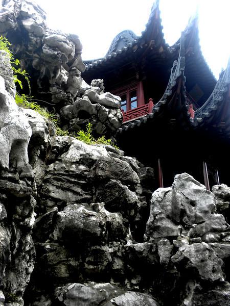 Shanghai, China - inside Yu Garden