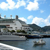 Nagasaki, Japan - our ship Legend of the Seas at pier