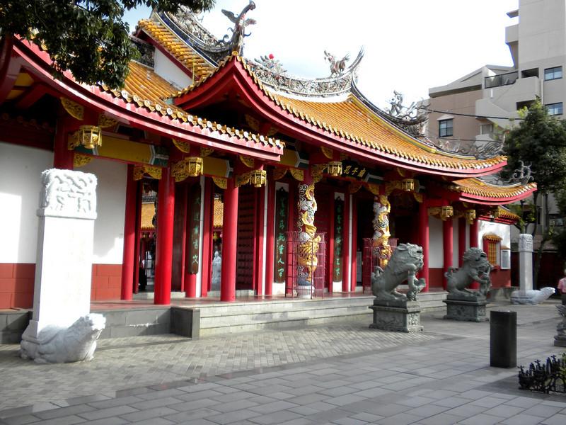 Nagasaki, Japan - scene of the Confucius Shrine