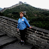 Beijing, China - Beverly on the Great Wall