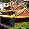 Keelung, Taiwan - a Buddhist temple near Giufun (九分), a former gold-mining town