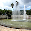 Nagasaki, Japan - the fountain inside the Peace Park