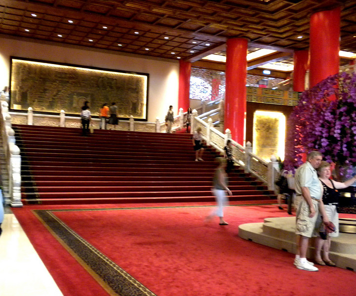 Taipei, Taiwan - inside the Grand Hotel