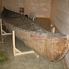 Canoe used by the ancestors of local MicMac (Mick-Maw) Indian tribes