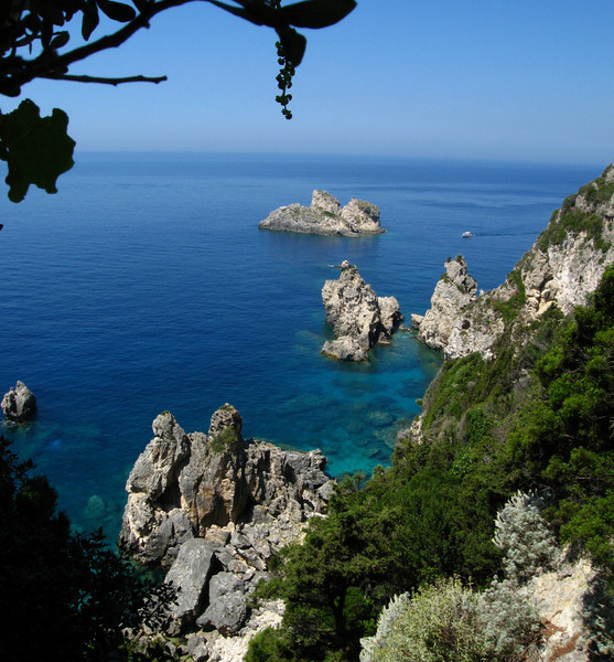 Rugged Corfu Coast (61541924)