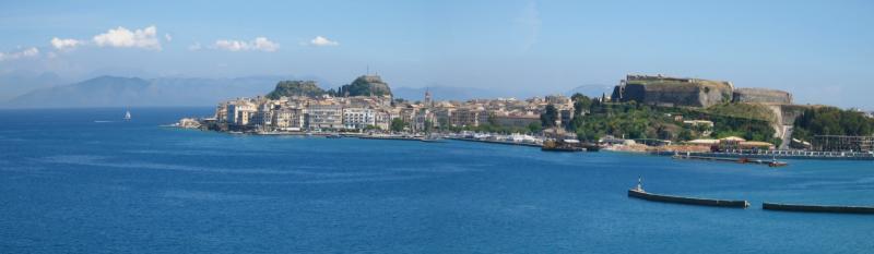Panoramic View of Corfu Harbor (61541930)