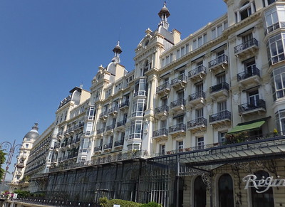 Regina hotel. Formerly the summer home of Queen Victoria.