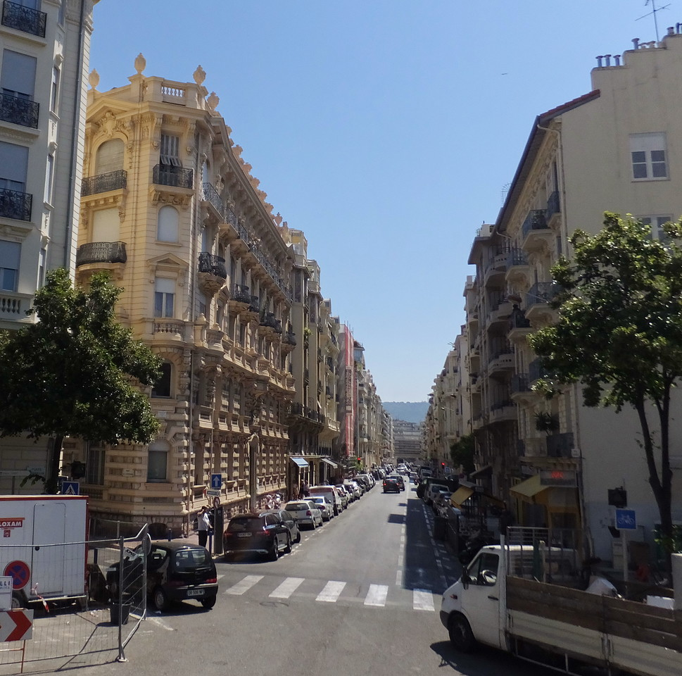 Victorian buildings in Nice