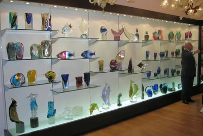 Murano Glass Display Murano Island (61666148)