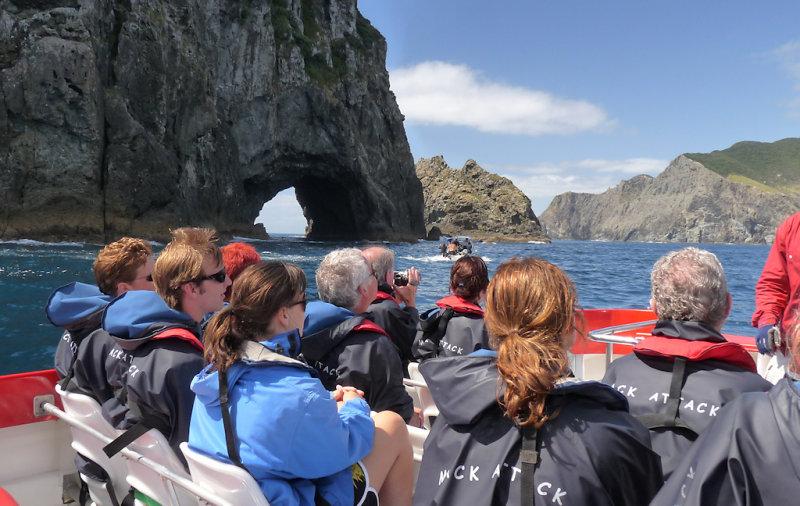 We went through it Bay of Islands - Bay of Islands