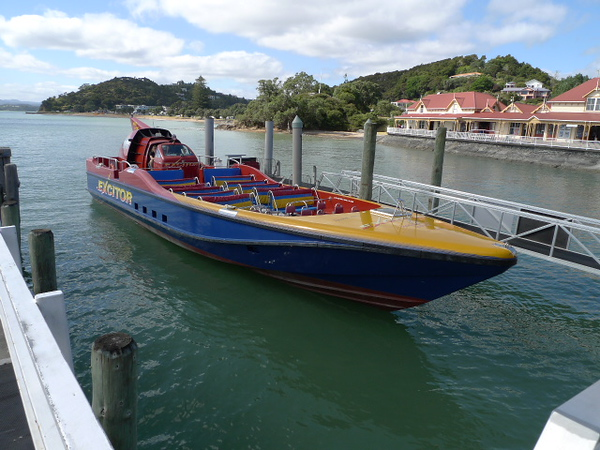 Mack Attack boat. Our ride to the islands Bay of Islands - Bay of Islands