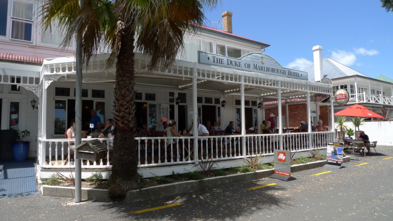 The Duke of Marlborough Hotel in Russell Bay of Islands - Bay of Islands
