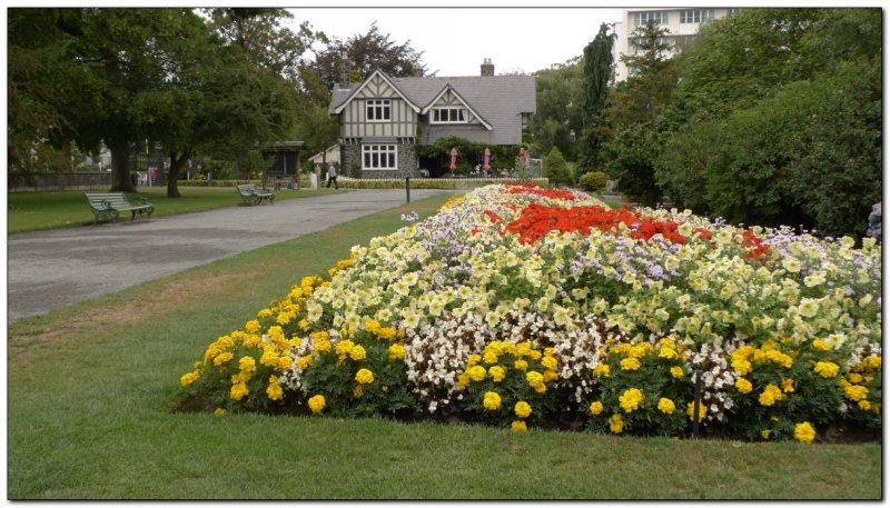 21 acres of Botanic Gardens. Christchurch, New Zealand