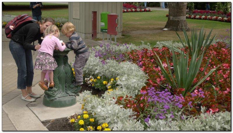 Botanic Gardens. Christchurch, New Zealand