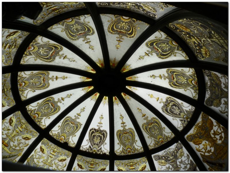 roof of the glass gazebo at Larnach Castle (109292791)