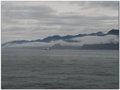Another cruise ship racing us to the sound (109291525)