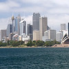 Sydney, Australia<br /> Skyline from harbor boat